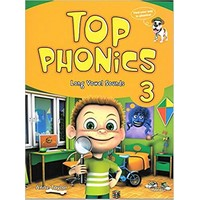 Top Phonics 3 : Student Book with Hybrid CD