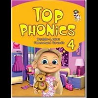 Top Phonics 4 : Student Book with Hybrid CD