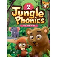 Jungle Phonics 2 Student Book MP3 & CD-ROM