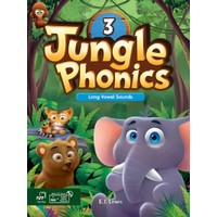Jungle Phonics 3 Student Book MP3 & CD-ROM