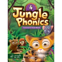 Jungle Phonics 4 Student Book MP3 & CD-ROM