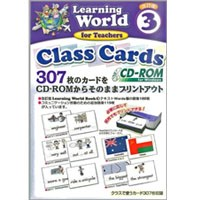 Learning World Book 3 (2/E) Class Cards CD-ROM