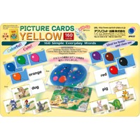 Welcome to Learning World YELLOW Book Picture Cards Yellow (CD付)