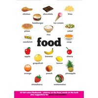Flash Card Food (A5) (NE)