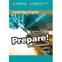 Cambridge English Prepare! Level 2 Test Generator CD-ROM