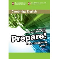 Cambridge English Prepare! Level 7 Test Generator CD-ROM
