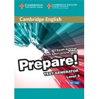 Cambridge English Prepare! Level 3 Test Generator CD-ROM