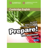 Cambridge English Prepare! Level 6 Test Generator CD-ROM