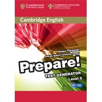 Cambridge English Prepare! Level 5 Test Generator CD-ROM