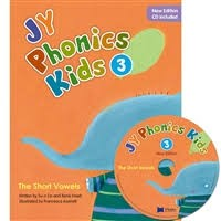 NEW JY Phonics Kids 3 SB+CD