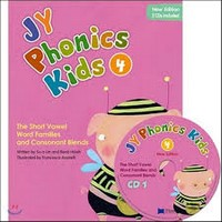 NEW JY Phonics Kids 4 SB+CD
