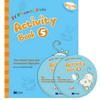 JY Phonics Kids 5 Activity Book with CD