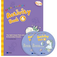 JY Phonics Kids 6 Activity Book with CD