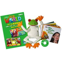 Fun Time Set 1 Our World Readers 1 (9 titles) Puppet DVD Teacher's Guide
