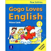 Gogo Loves English 4 (2/E) Picture Cards