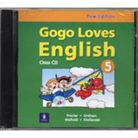 Gogo Loves English 5 (2/E) Class CD
