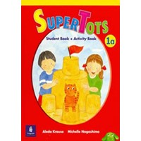 SuperTots 1A Student Book + Activity Book pages