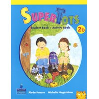 SuperTots 2B Student Book + Activity Book pages