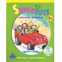 SuperTots 3A Student Book + Activity Book pages + CD