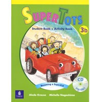 SuperTots 3B Student Book + Activity Book pages + CD