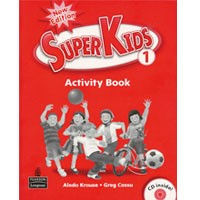 Superkids 1 (2/E) Activity Book + CD