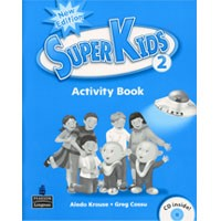 Superkids 2 (2/E) Activity Book + CD
