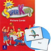 Superkids 1 (2/E) Picture Cards