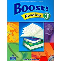 Boost! Reading 3 Student Book + CD