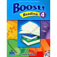 Boost! Reading 4 Student Book + CD