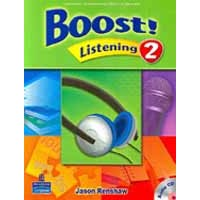 Boost! Listening 2 Student Book + CD
