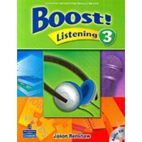 Boost! Listening 3 Student Book + CD