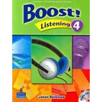 Boost! Listening 4 Student Book + CD