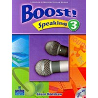 Boost! Speaking 3 Student Book + CD