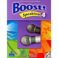 Boost! Speaking 4 Student Book + CD