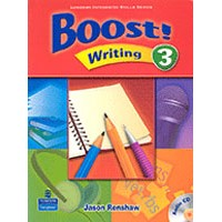 Boost! Writing 3 Student Book + CD