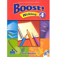 Boost! Writing 4 Student Book + CD
