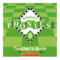 Scholastic Phonics B TB CD-ROM