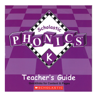 Scholastic Phonics K TB CD-ROM