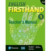 English Firsthand 1 (5/E) Teacher's Manual with CD-ROM