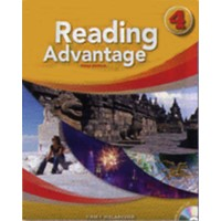 Reading Advantage, 3/e 4 Student Book (96 pp) with Audio CD