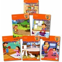 Happy Phonics Set 6 (5 Books with MP3 Audio)