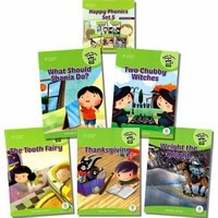 Happy Phonics Set 5 (5 Books with MP3 Audio)