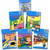 Happy Phonics Set 4 (5 Books with MP3 Audio)