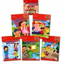 Happy Phonics Set 2 (5 Books with MP3 Audio)