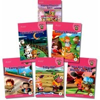 Happy Phonics Set 1 (5 Books with MP3 Audio)