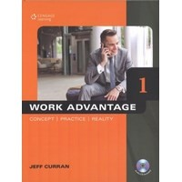 Work Advantage: Concept, Practice, Reality 1 Student Book (128 pp) with MP3 Audio