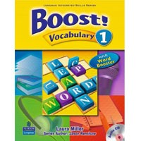 Boost! Vocabulary 1 Student Book + CD