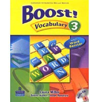 Boost! Vocabulary 3 Student Book + CD
