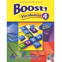 Boost! Vocabulary 4 Student Book + CD