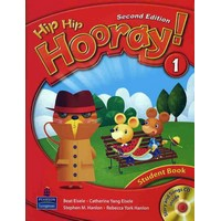 Hip Hip Hooray 1 2nd Edition Student Book with Story and Songs CD